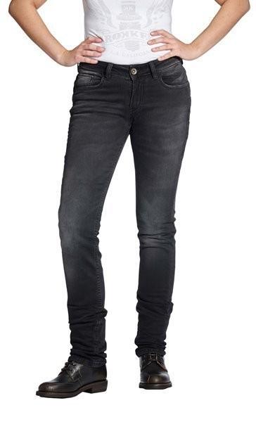 "ROKKER Women's Jeans - ""The Donna"" - black"