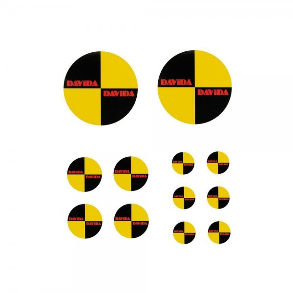 "DAVIDA Sticker - ""Crash Decal Kit"""