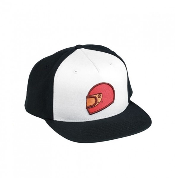 "BILTWELL Hat - ""Gringo-S"" - black & white"