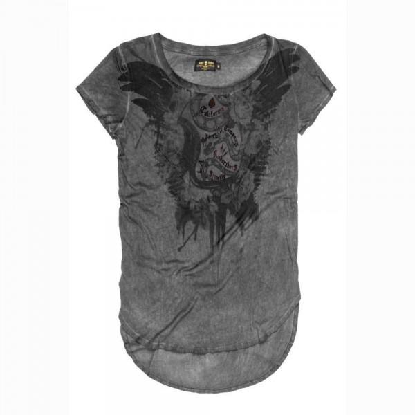 "RUDE RIDERS Women's T-Shirt - ""California Motorcycle"" - black"