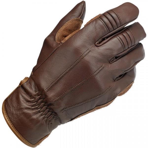 """BILTWELL Gloves - """"Work Gloves"""" - chocolate"""