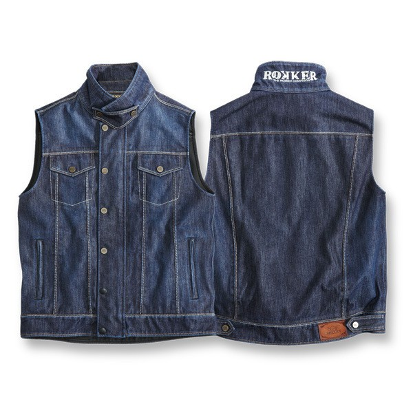 "ROKKER Vest - ""Revolution Vest"" - blue"