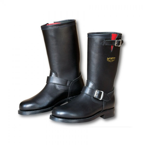 """LEWIS LEATHERS Motorcycle Boots - """"A10 Mechanic"""" - black"""