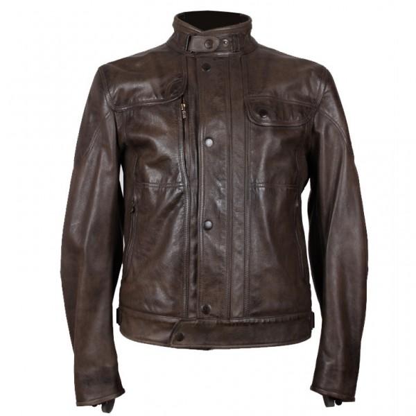 """MATCHLESS PM Jacket - """"Kensington Blouson"""" - antique black & green"""