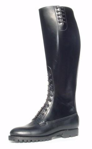 "DEHNER Patrol Boot - ""Mounti"" - custom made motorcycle boots black"