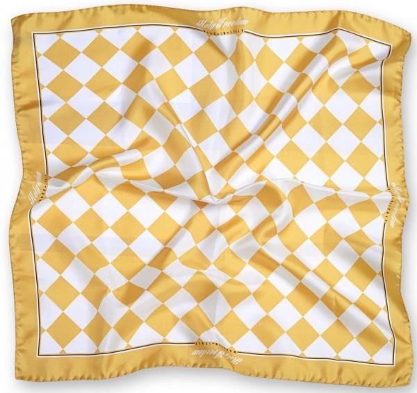 "HOLY FREEDOM silk scarf - ""Bullit Foulard"" - yellow"