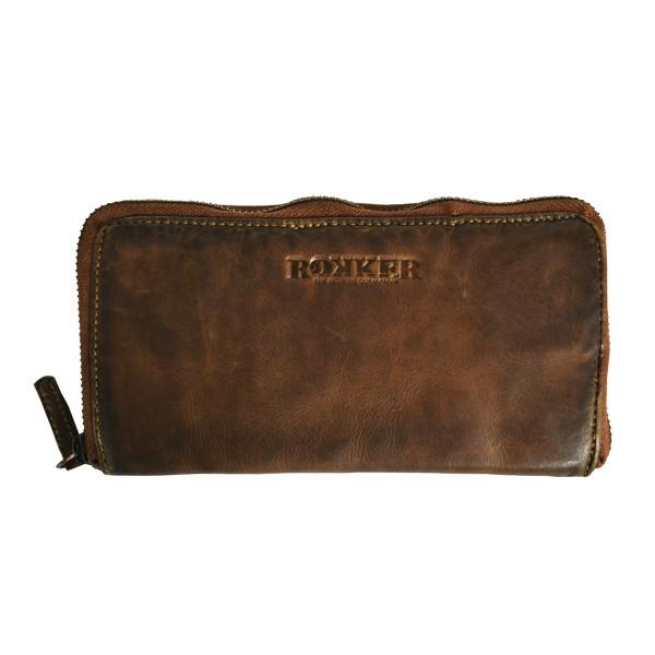 "ROKKER Wallet - ""Lady Wallet Big"" - light brown"