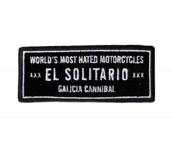 """EL SOLITARIO Patch - """"Most Hated"""""""