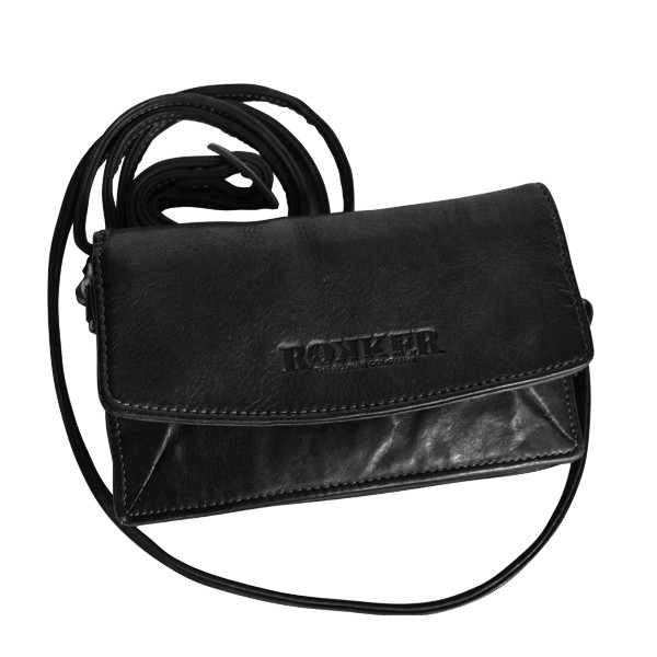 """ROKKER Wallet - """"Lady Wallet"""" - black"""