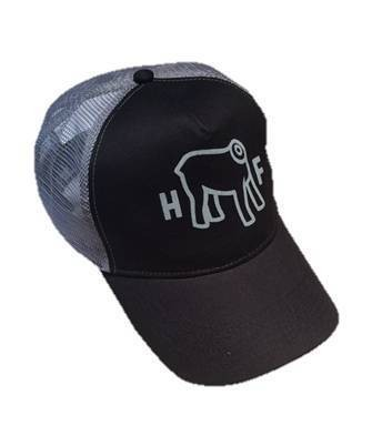 "HOLY FREEDOM Hat - ""Headless Gray"" - black"
