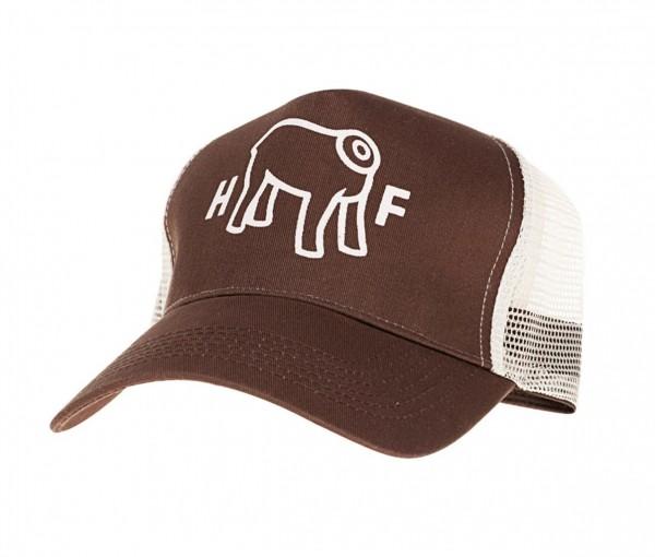 """HOLY FREEDOM Hat - """"Mud"""" - brown & beige"""