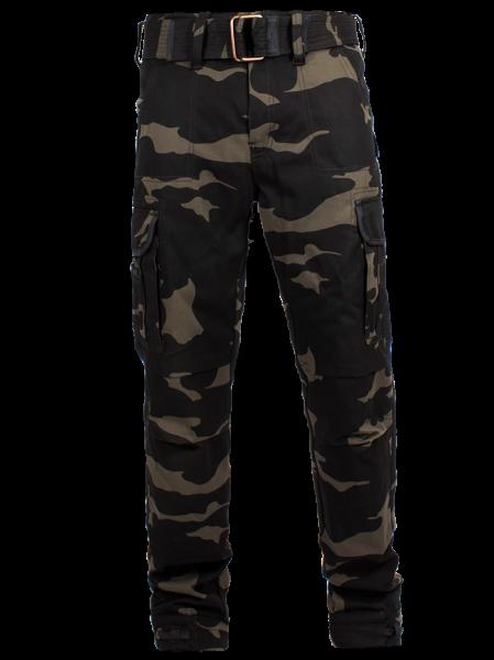 "JOHN DOE Cargo Pants - ""Regular Cargo"" - camouflage"