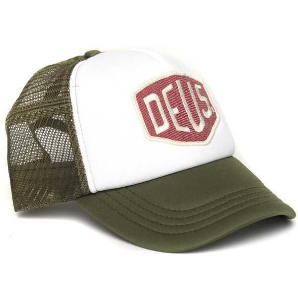 """DEUS EX MACHINA Hat - """"Colour Shield"""" - oliv"""