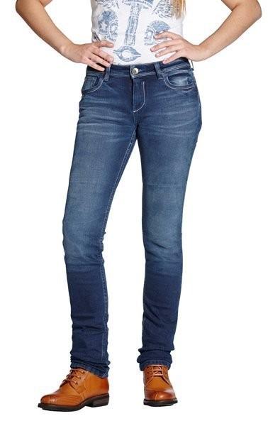 """ROKKER Women's Jeans - """"Rokkertech Pant Lady"""" - blue"""