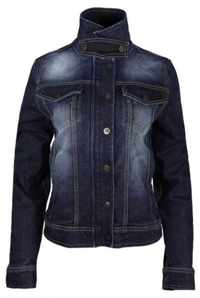 """ROKKER Women's Jacket - """"Rokkertech Denim Jacket Lady"""" - blue"""