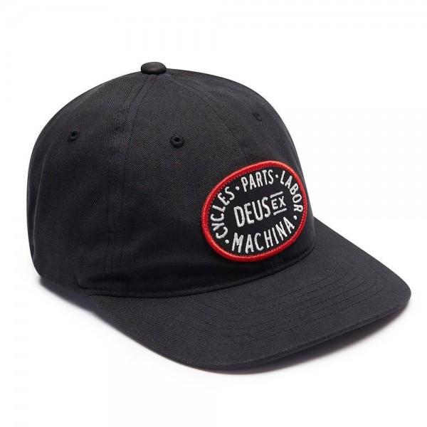 """DEUS EX MACHINA Hat - """"Alder"""" - black"""