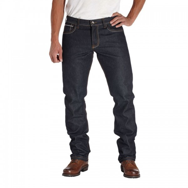 """ROKKER Jeans - """"Red Selvage Raw"""" - dark blue"""