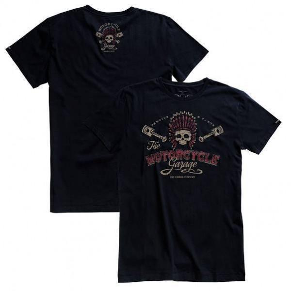"ROKKER T-Shirt - ""Chief"" - black"