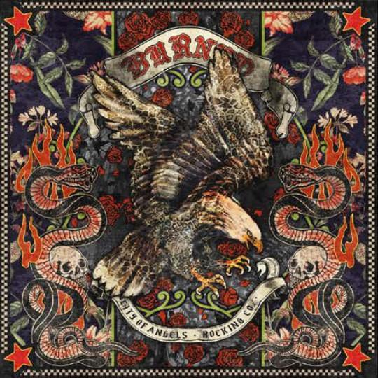 "RUDE RIDERS Scarf - ""Eagle Rock"" - 130 x 130 cm"