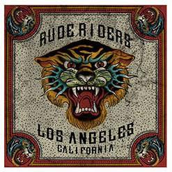 """RUDE RIDERS Foulard - """"Tiger Tatoo"""" - 67 x 60 cm"""