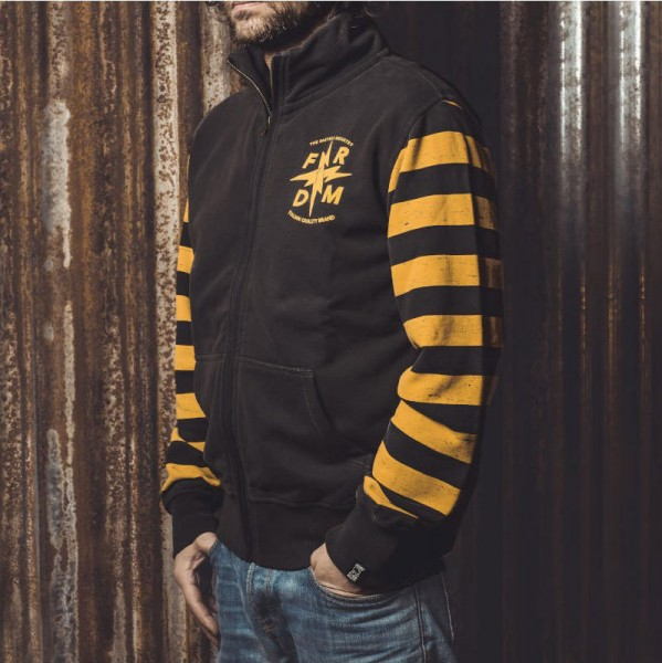 """HOLY FREEDOM Fullzip Sweatshirt - """"Maya"""""""