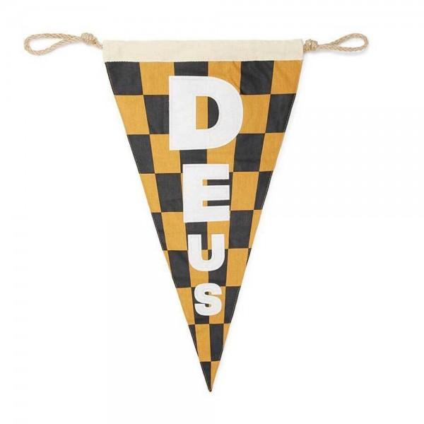 """DEUS EX MACHINA - """"Surf Flag"""" - black & gold"""