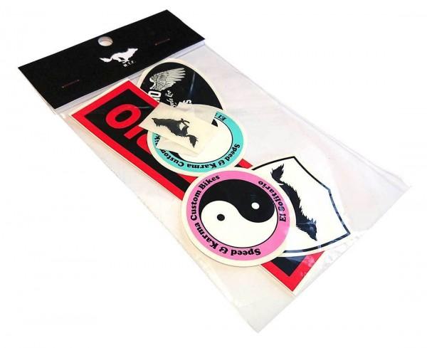 "EL SOLITARIO stickers - ""ES Sticker Pack Two"" - 7 pcs."
