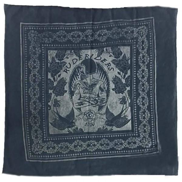 "RUDE RIDERS Blanket - ""Custom Crew Indigo"" - 150 x 155 cm"