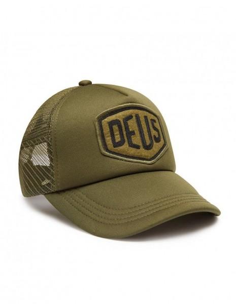 "DEUS EX MACHINA Hat - ""Felt Shield Trucker"" - olive"