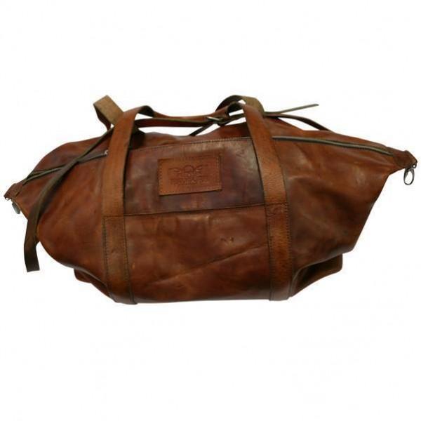 """ROKKER Bag - """"Weekender Small"""" - dark brown"""