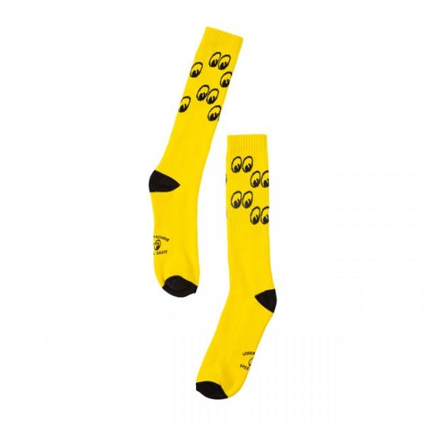LCM x MOONEYES Look Socks yellow