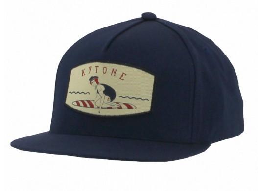 "KYTONE Hat - ""Miss Bent"" - blue"