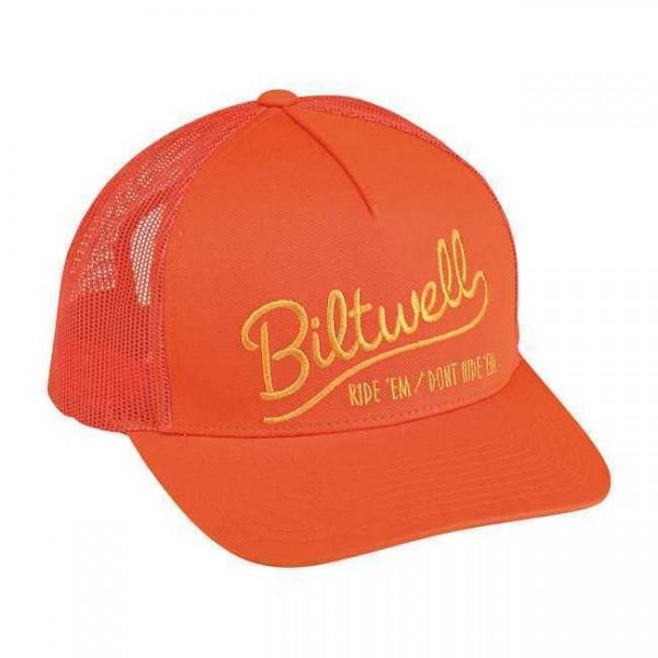 "BILTWELL Hat - ""Ride 'Em"" - orange"