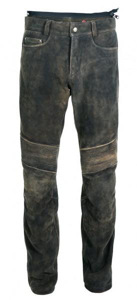 """MEINDL Leather Pants - """"Rebel 24 Deer"""" - brown"""