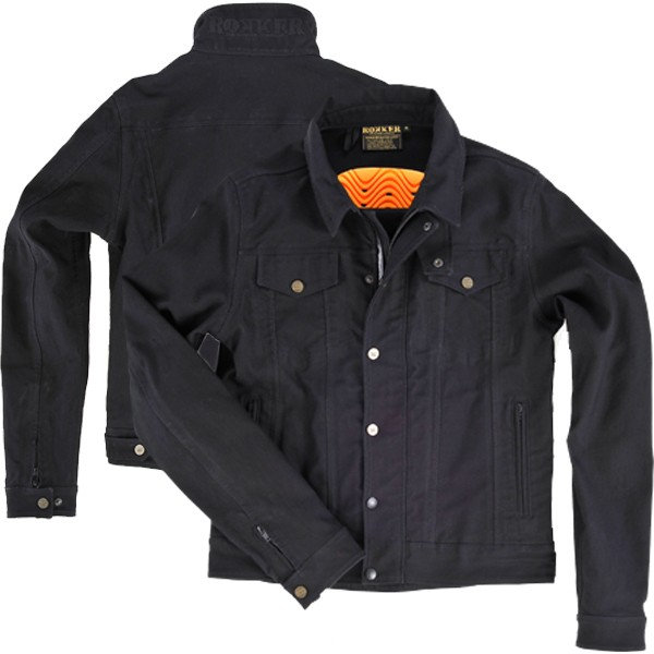 """ROKKER Jacket - """"Black Jakket"""" - black"""