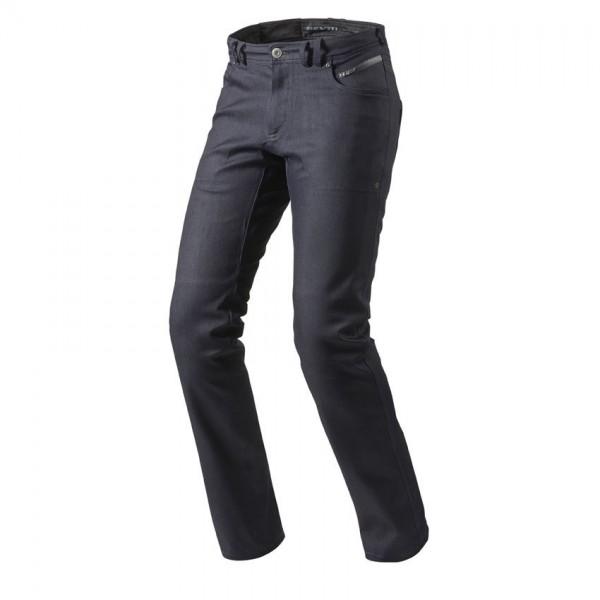 "REV'IT Jeans - ""Orlando H2O"" - men's waterproof motorcycle jeans dark blue"