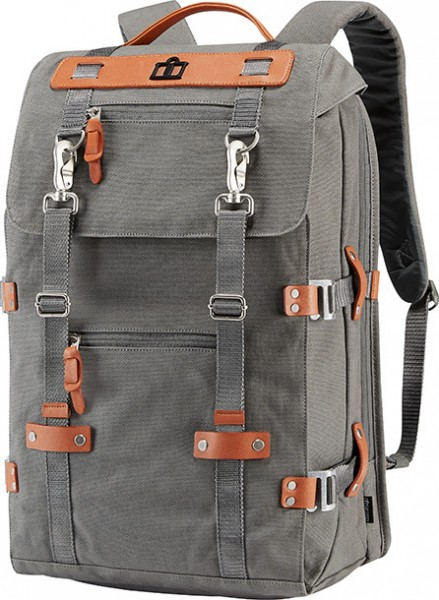 "ICON 1000 Backpack - ""Advokat"" - grey"