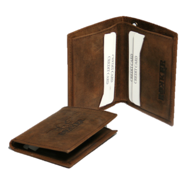 """ROKKER Wallet - """"Every Day Wallet"""" - brown"""