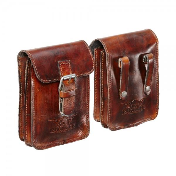 "ROKKER - ""Belt Bag Small"" - dark brown"