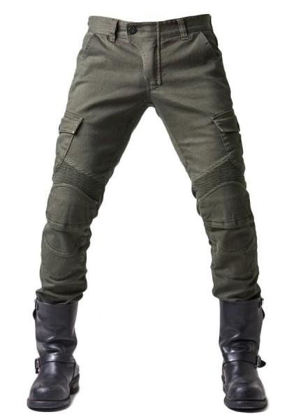 "uglyBROS Jeans - ""Motorpool"" - olive"