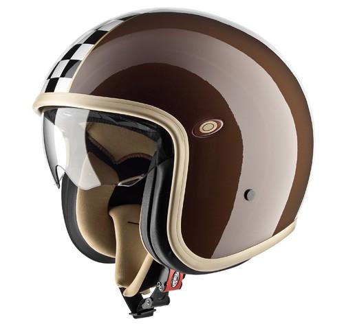 """PREMIER Vintage - """"CK Brown"""" - Rally Helmet - ECE"""