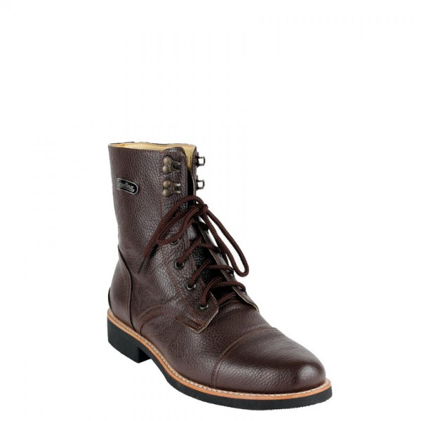 """GASOLINA Motorcycle Boots - """"Dapper"""" - brown"""