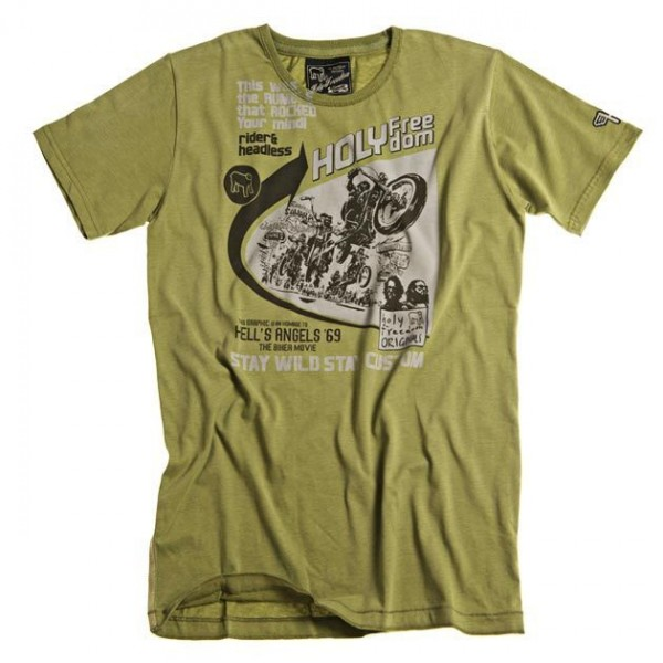 """HOLY FREEDOM T-Shirt - """"Angels Green"""" - green"""