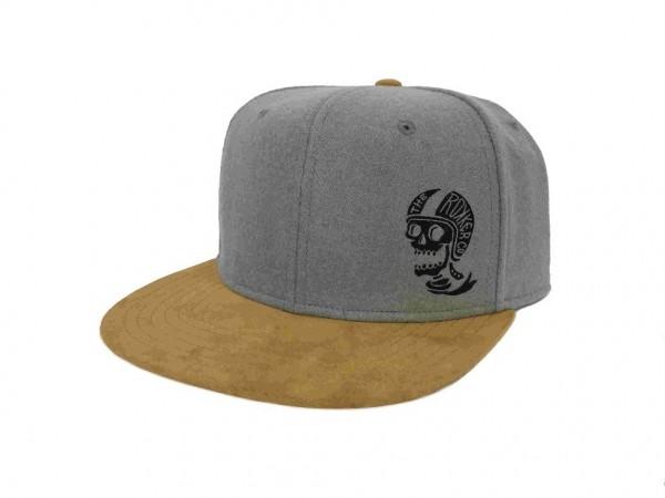 """ROKKER Hat - """"Hellmut Snapback"""" - grey"""