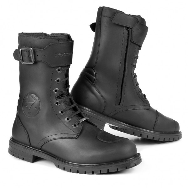 STYLMARTIN Motorcycle Boots Rocket waterproof black