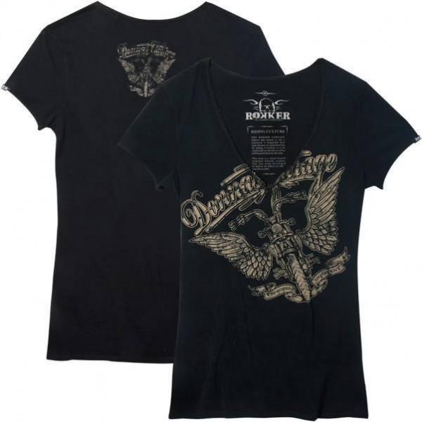 "ROKKER Women's T-Shirt - ""Donnas Garage"" - black"