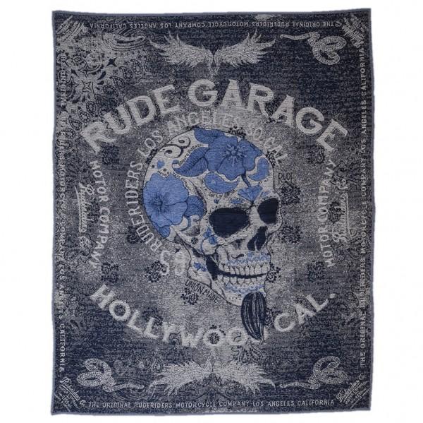 """RUDE RIDERS Blanket - """"Rude Garage"""" - 150 x 190 cm"""
