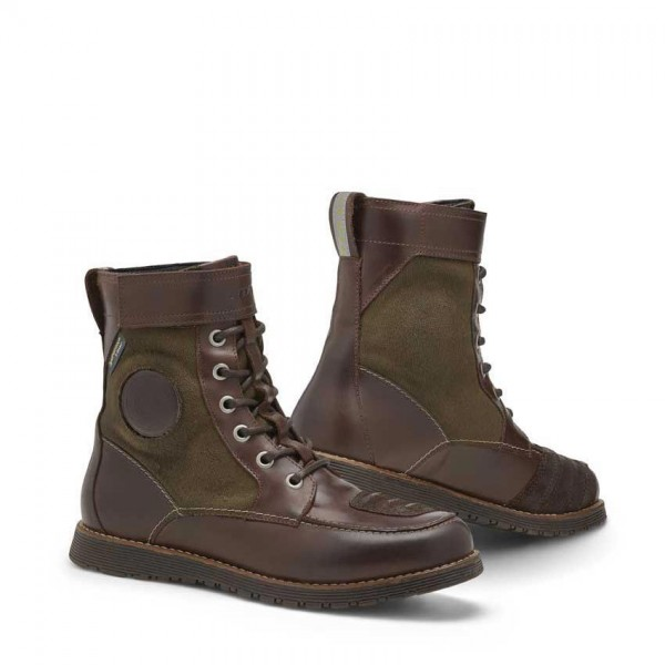 """REV'IT Motorcycle Boots - """"Royale H2O"""" - waterproof brown & olive"""