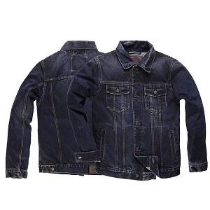 """ROKKER Men's Jacket - """"Denim 16 oz stonewashed"""""""