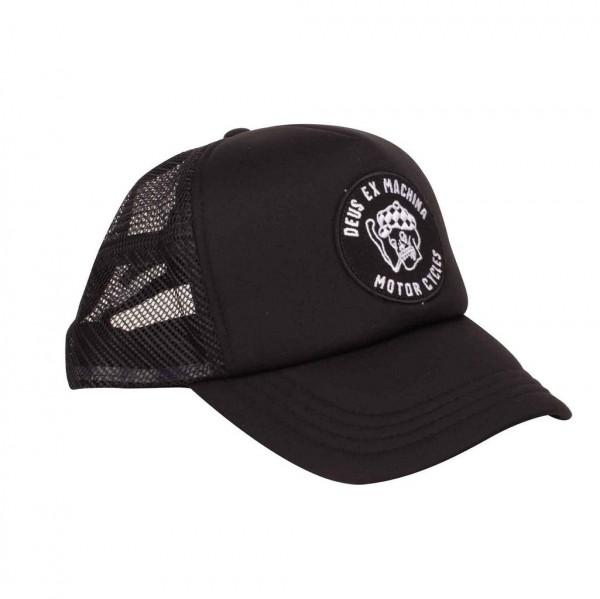 "DEUS EX MACHINA Hat - ""Smokey Trucker"" - black"